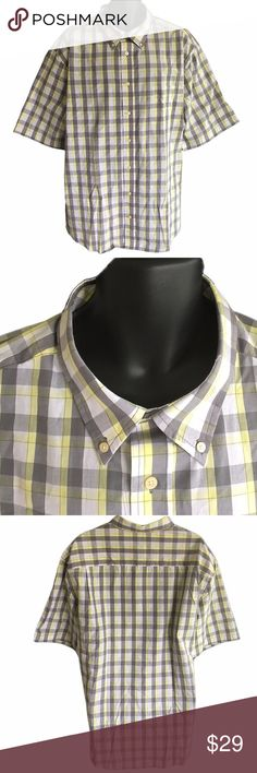 George Men's Button Up Shirt 3XL New with tags! Very nice George Men's Button Up Shirt, size 3XL. George Shirts Casual Button Down Shirts