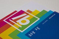 Personal portfolio - 2014 by Laura Beretti, via Behance