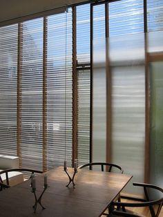 Cheap & Cool Renovation Resource: Corrugated Plastic - like TUFTEX Cheap Interior Wall Paneling, Interior Barn Doors, Interior Walls, Interior Design, Sliding Wall, Sliding Barn Door Hardware, Multi Million Dollar Homes, Plexiglass, Plastic Windows