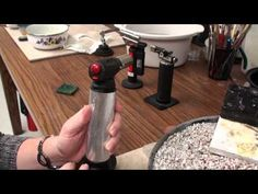 Jewelry Artist and Teacher, Melissa Muir, demonstrates how to start and adjust 3 different types of butane torches (video)