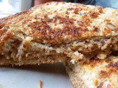 Grilled Peanut Butter and Honey Sandwich - so simple, but sounds yummy