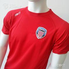 Camiseta Entreno .M Roja CDLU