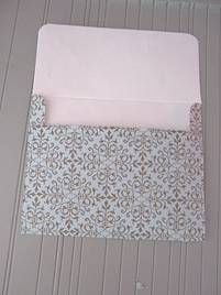 Instructions for making your own envelopes for any size card.