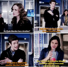 """#TheFlash 1x15 """"Out of Time"""" - Caitlin, Barry and Cisco"""