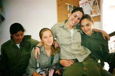 IDF- Gal Gadot on the right