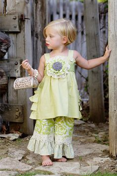 Persnickety Heriloom Jumper & Pants..Love this too!! Pre-order for spring