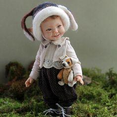 OOAK doll by Olga Kizhaeva