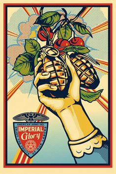 Imperial glory and POWER | OBEY | Shepard Fairey