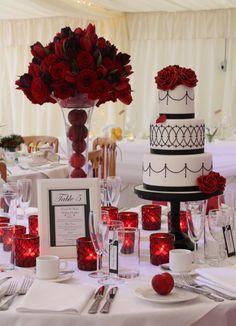 Gothic Romance Wedding Cake