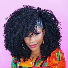Ideen von Crochet Braids Frisuren Crochet Hair Styles crochet braids styles with curly hair Curly Crochet Hair Styles, Crochet Braid Styles, Short Hair Styles, Crochet Weave Hairstyles, Curly Crochet Braids, Crochet Mohawk, Best Crochet Hair, Mohawk Styles, Curly Braids