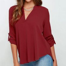Like and Share if you want this  Big Size Blusas Femininas 2016 Women Chiffon ruffles Blouses Deep V-neck White red Long Sleeve Shirt Tops Plus size XXXL 4XL 5XL     Tag a friend who would love this!     FREE Shipping Worldwide     #Style #Fashion #Clothing    Get it here ---> http://www.alifashionmarket.com/products/big-size-blusas-femininas-2016-women-chiffon-ruffles-blouses-deep-v-neck-white-red-long-sleeve-shirt-tops-plus-size-xxxl-4xl-5xl/