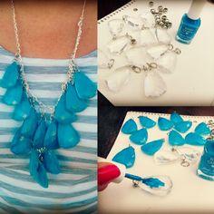 DIY Fashion Statement Necklace