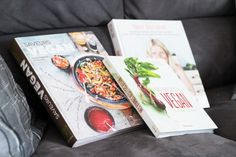 Suite à quelques changements dans mon alimentation, je me suis équipée de merveilleux livres green pour apprendre à cuisiner sainement