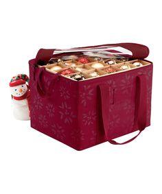 Look at this #zulilyfind! Cranberry Ornament Storage Bag by Classic Accessories #zulilyfinds