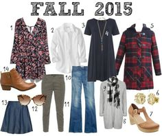Fall 2015 Fashion Must Haves