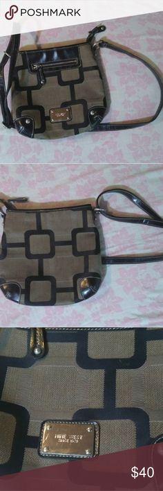 Selling this Nine West Crossover Purse/Bag on Poshmark! My username is: cookienano. #shopmycloset #poshmark #fashion #shopping #style #forsale #Nine West #Handbags