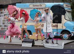 Mr Wippy and the Conettes is a piece of mobile, musical theatre based in an antique ice cream van. Ice Cream Van, Musical Theatre, Musicals