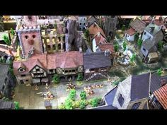 Dwarven Forge, Miniature Building Authority and TerranScapes City - YouTube