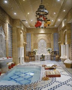 Doesn't every home need a turkish bath???