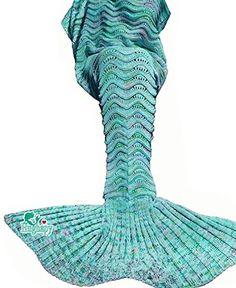 Hughapy knitted Mermaid Tail Blanket for Adults Teens,Kid... https://www.amazon.com/dp/B01LYC9LFI/ref=cm_sw_r_pi_dp_x_zLxbybBGNV200