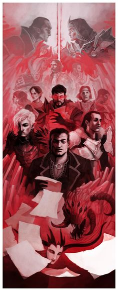 DA: Dragon Age II by coupleofkooks on DeviantArt