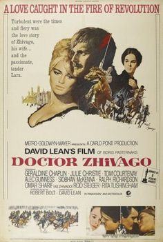 Doctor Zhivago - the perfect movie.