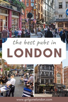 Whether you meet at the pub with friends for a drink or you have a casual work meeting or you're there to celebrate a special occasion, it's been said that a pub is a British person's living room, meaning that it's here that they hang out and entertain. Best Countries In Europe, London With Kids, Work Meeting, Best Pubs, London Night, London Attractions, Things To Do In London, Beautiful Places To Visit, London Travel