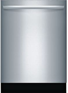 Bosch SGX68U55UC Fully Integrated Dishwasher with AquaStop® Plus, RackMatic® System, 3rd Rack, ActiveTab™ Tray, Variable Spray Pressure, 15 Place Setting Capacity, 5 Wash Cycles, Sanitize Option, Water Softener, 44 dBA Sound Rating and ENERGY STAR®