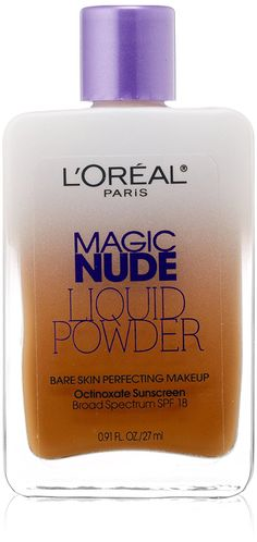 L'Oreal Paris Magic Nude Liquid Powder Bare Skin Perfecting Makeup SPF 18, Classic Tan, 0.91 Ounces *** Startling review available here  : wedding Makeup