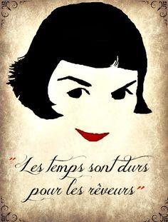"""Les temps sont durs pour les reveurs... the film """"Amelie"""" (5 Oscar nominations 2001)"""