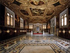 The Venetian Renaissance of Bellini, Titian and Tintoretto: Frari Church and Scuola di San Rocco Venice Attractions, San Rocco, European Road Trip, Tumbling Blocks, Places In Italy, Renaissance Paintings, Renaissance Art, Saint John, Most Beautiful Cities