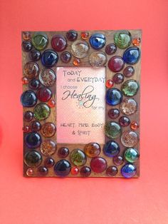 Chakra Quote Picture Frame/4x6 frame/Chakra by HerFaveRitThings