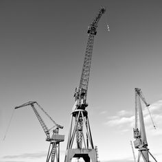 """Clyde Cranes Glasgow influenced this series of """"triangulated"""" elements"""