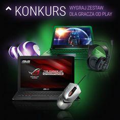 #konkurs #gracz #gracze #Play #wygrania #Laptop #Asus #ROG #GL552 #HP #Pavilion #konkursy #e-konkursy #nagroda #nagrody #facebook http://www.e-konkursy.info/konkurs/konkurs-wejdz-do-gry-w-play.html