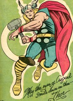 May the Eyes of Asgard Smile Down on Thee - Jack Kirby