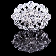 Find More Brooches Information about 25*35mm handmade Oval flowers vintage brooch color rhinestone brooches for women diy Fashion Jewelry breastpin brooch pins,High Quality brooch pendant,China brooch pink Suppliers, Cheap brooch for wedding dress from Playful beauty department store on Aliexpress.com