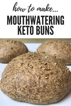 Diet Meals The Best Keto Buns on the Planet! - Trina Krug - Easy Keto Recipe Buns The best on the planet! Egg And Bread Recipes, Easy Keto Bread Recipe, Best Keto Bread, Low Carb Bread, Low Carb Keto, Ketogenic Recipes, Low Carb Recipes, Ketogenic Diet, Jello Recipes
