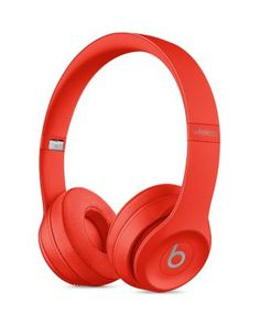 Beats by Dr. Dre Icon On-Ear Sound Isolating Bluetooth Headphones - Citrus Red Noise Cancelling Headphones, Bluetooth Headphones, Beats Headphones, Over Ear Headphones, Beats Studio, Headset, Beats Solo 3, Headphones Online, Ear Sound