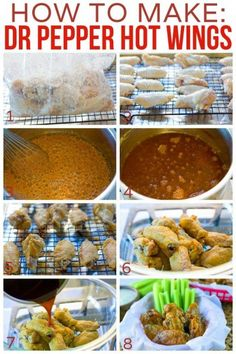 How to Make Dr Pepper Hot Wings recipe