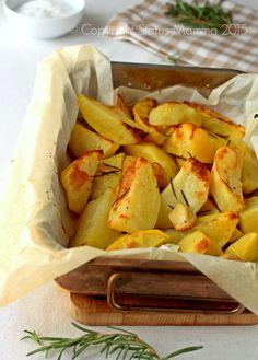 articolo con tutti i consigli per la preparazione perfetta delle patate al forno ricetta verdura contorno facile Statusmamma cucinare Giallozafferano blog © Copyright Status Mamma 2015