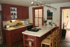 Country Kitchen from the Historic Hoover House in Sharpsburg, MD
