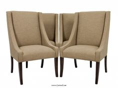 Upholstered Dining Chairs for Comfortable Sitting : Fully Upholstered Dining Chairs Carrocel Design Ideas Unit