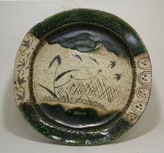 Oribe 17th Cy: Pottery Ceramic Plates, Art Ceramic Porcelain, Ceramics Pottery, Ceramique