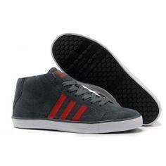 Køligt Adidas Vlneo Hoops Mid Shoes Mørkgrå Rød Hvid Herre Skobutik | Købe Adidas Vlneo Hoops Mid Shoes Low Skobutik | Adidas Skobutik Salg | denmarksko.com