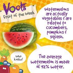 Fun facts on #watermelon