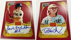 """Because your baseball card collection is sadly void of Kelly Leak, you'll be happy to know that a set of """"Bad News Bears"""" baseball cards are coming soon from Panini America. According to Panini's blog post announcing the cards, this … Continue reading →"""