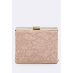 Now available on our store: Pink Snake Skin P... Check it out!  http://ladieswishlist.com/products/pink-snake-skin-printed-box-clutch?utm_campaign=social_autopilot&utm_source=pin&utm_medium=pin
