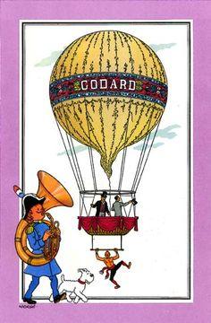 Ballon 17 : Aérostat de Godard