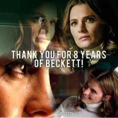 Thank you for 8 years of Beckett! <3