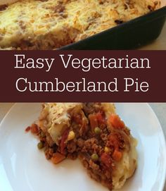 Vegetarian Cumberland Pie using quorn mince this can eailty be adapted to becoming a quorn slimming world recipe too and it is packed full of beneficial veggies and a great comfort food recipe, Lovely vegetarian cooking Slimming World Vegetarian Recipes, Vegetarian Cooking, Healthy Dinner Recipes, Fast Recipes, Delicious Recipes, Low Fat Cooking, Easy Cooking, Quorn Recipes, Quorn Meals